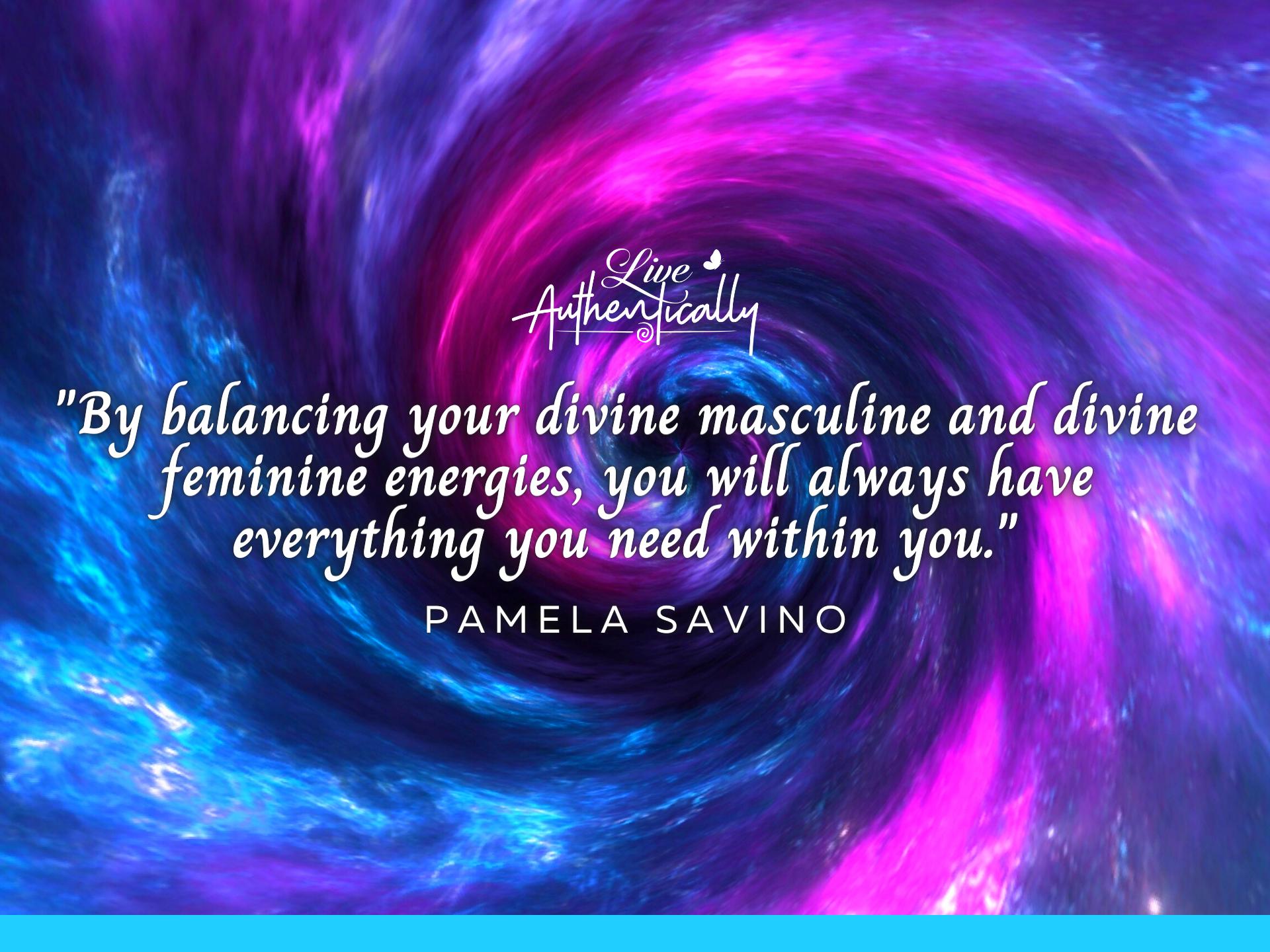 masculine and feminine energies