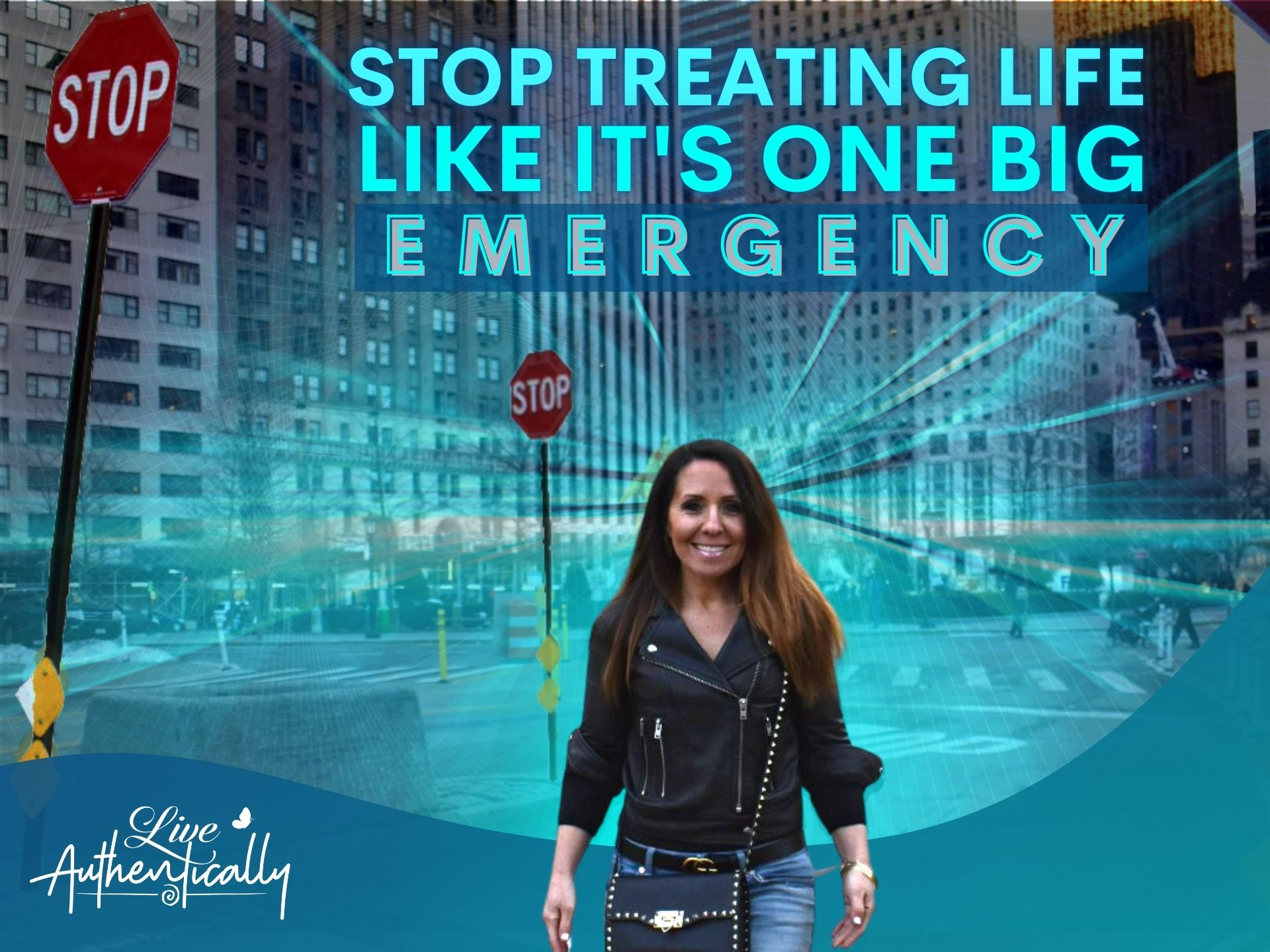 Stop Treating Life Like it's One Big Emergency